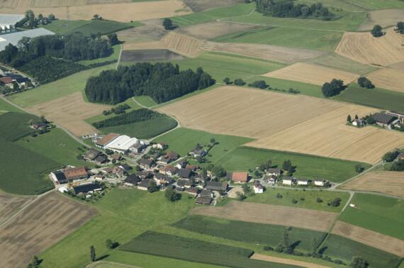 Flugaufnahme Fenkrieden / Gerenschwil